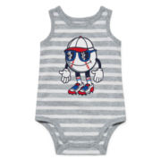 Okie Dokie® Graphic Bodysuit - Baby Boys newborn-9m