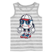 Okie Dokie® Graphic Tank Top - Baby boys 12m - 24m