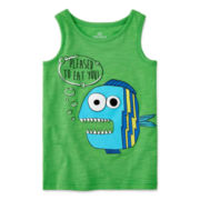 Okie Dokie® Graphic Tank Top - Toddler Boys 2t-5t