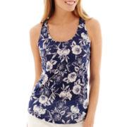 Stylus™ Short-Sleeve V-Neck Linen T-Shirt