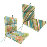 "French-Edge 22x44"" Reversible Chair Cushion"