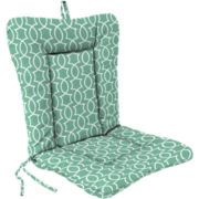 Euro-Style Knife-Edge Reversible Chair Cushion