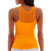 Arizona Lace-Back Ribbed Tank Top