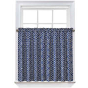 Waverly® Lovely Lattice 2-Pack Rod-Pocket Window Tiers