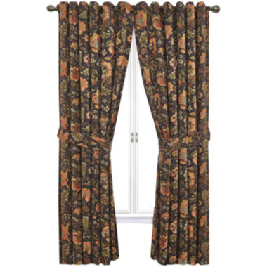 jcpenney.com | Waverly® Imperial Dress Rod-Pocket Curtain Panel with Tieback