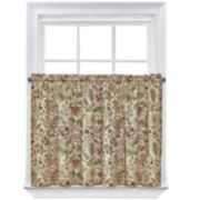 Waverly® Imperial Dress 2-Pack Rod-Pocket Window Tiers