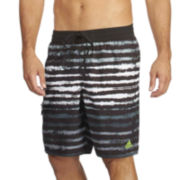 adidas® Acid Stripe Volley Swim Trunks