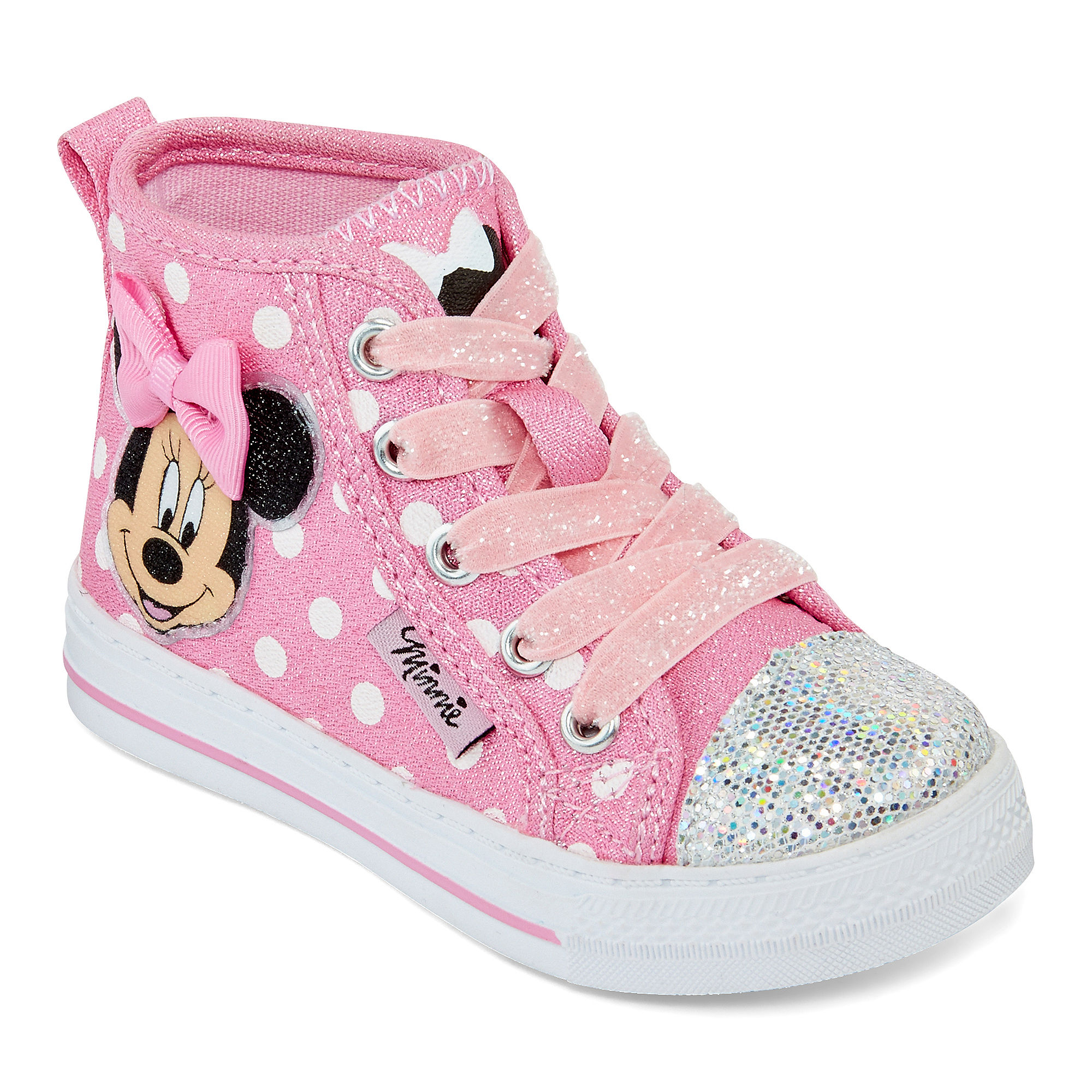 Top Sneakers Minnie Mouse Shoes For Toddler
