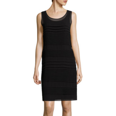 jcpenney.com | Worthington® Sleeveless Pintuck Sheath Dress