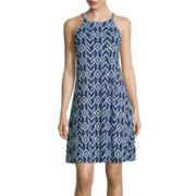 a.n.a® Print Swing Tank Dress