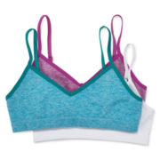 Maidenform 3-pk. Turquoise White Green Seamless Bras