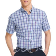 IZOD® Saltwater Blues Short-Sleeve Woven Shirt
