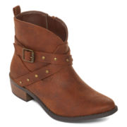 Arizona Bitty Girls Western Booties - Little Kids