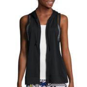 City Streets® Mesh Hoodie Vest