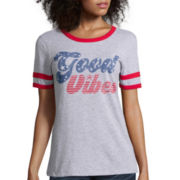 Arizona Short-Sleeve Ringer Tee