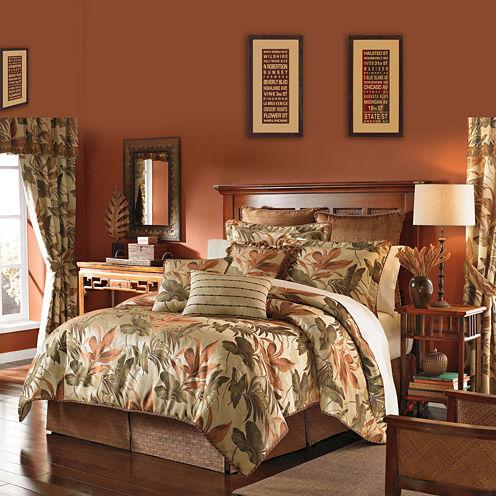 Croscill Classics® Grand Isle 4-pc. Jacquard Comforter Set & Accessories