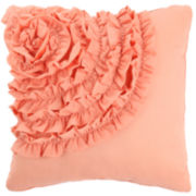 MaryJane's Home Cotton Clouds Square Decorative Pillow