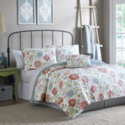 MaryJane's Home Garden Jacobean Quilt Set & Accessories