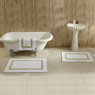 jcpenney.com | Better Trends Hotel Collection 2-pc. Cotton Reversible Bath Rug Set