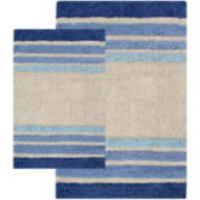 Chesapeake Tuxedo Stripe 2-pc. Bath Rug Set