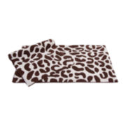 Chesapeake Merchandising Leopard 2-pc. Bath Rug Set