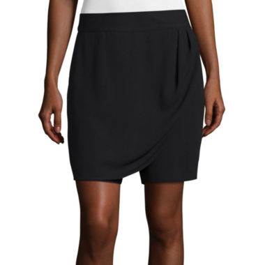 jcpenney.com | Liz Claiborne® Mid-Rise Wrap Skort - Tall