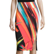 Worthington® Simple Side-Slit Pencil Skirt - Tall