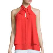 BELLE + SKY™ Sleeveless Bow-Tie Top