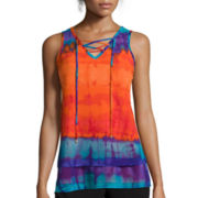 Worthington® Lace-Up Tank Top