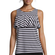 Worthington® Knit Ruffle Tank Top