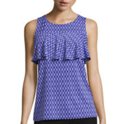 Worthington® Ruffled Knit Tank Top - Tall