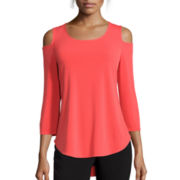 Worthington® Cold-Shoulder Top