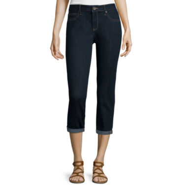 jcpenney.com | a.n.a® Roll-Cuff Skinny Ankle Jeans
