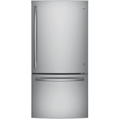 jcpenney.com | GE® Series ENERGY STAR® 24.9 cu. ft. Bottom-Freezer Drawer Refrigerator