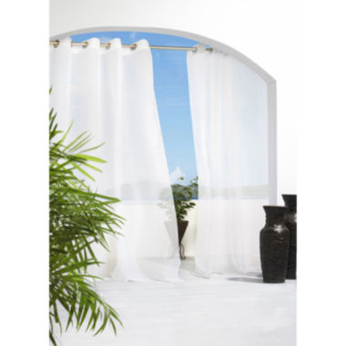 jcpenney.com | Cote D'Azure Grommet-Top Outdoor Curtain Panel