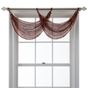 Royal Velvet® Cordial Print Waterfall Valance
