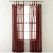 Royal Velvet® Lantana Tab-Top Curtain Panel