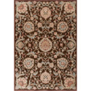 Nourison® Royal Essence High-Low Carved Rectangular Rugs