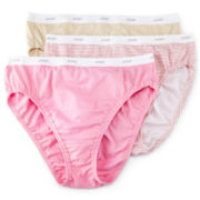 Jockey® 3-pk. Classic Fit French-Cut Panties - Plus 9481
