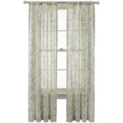 MarthaWindow™ Parkside Rod-Pocket/Back-Tab Curtain Panel