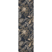 Nourison® Windy Leaves Hand-Hooked Rectangular Rugs