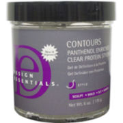 Design Essentials® Contour Panthenol Clear Protein Styling Gel - 6 oz.