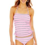 Arizona Striped Bandeaukini Swim Top