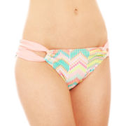Arizona Zigzag Print Hipster Swim Bottoms