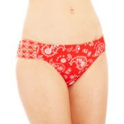Arizona Bandana Print Hipster Swim Bottoms