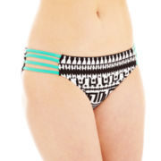 Bisou Bisou® Tribal Print Hipster Swim Bottoms