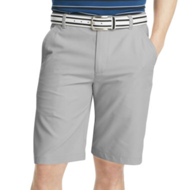 jcpenney.com | IZOD® Golf Solid Flat-Front Shorts