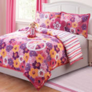 Dollie & Me Liliana Reversible Floral Comforter Set