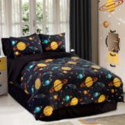 Rocket Star Comforter Set