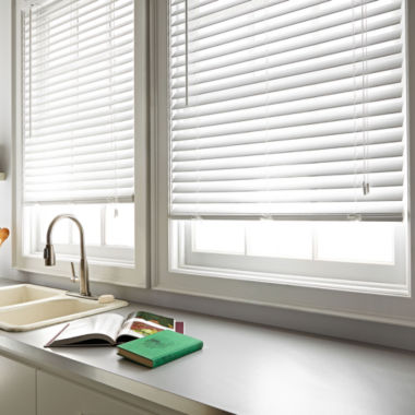 "jcpenney.com | JCPenney Home™ 2"" Embossed Faux-Wood Horizontal Blinds"